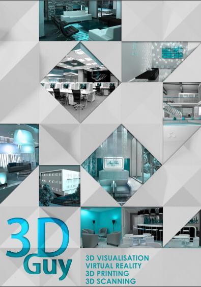 3DGuy 3D Scanning Virtual Tours 3D visualisation 3D rendering
